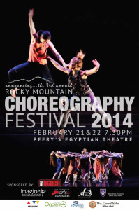 Announcing the Rocky Mountain Choreographers for 2014