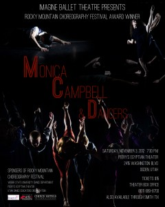 Rocky Mountain Choreography Festival Presents:Monica Campbell and Dancers