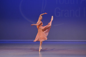 Ogden Art Stroll watch dancers perform solos for the American Ballet Competition in Boston.
