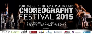 Announcing the Choreographers for 2015 Rocky Mountain Choreography Festival