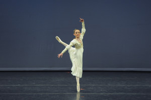 Aleksandra in Pas de Trois variation form Swan Lake.