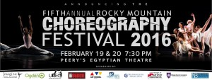 Announcing the Judges for the Rocky Mountain Choreography Festival 2016