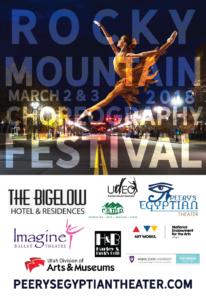 rocky mountain choreography poster